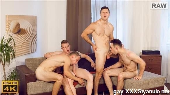 Kristof Trnka, Petr Jarena, Petr Ujen, Tomas Salek - Wank Party 98, Part 1,2 Raw [FullHD]