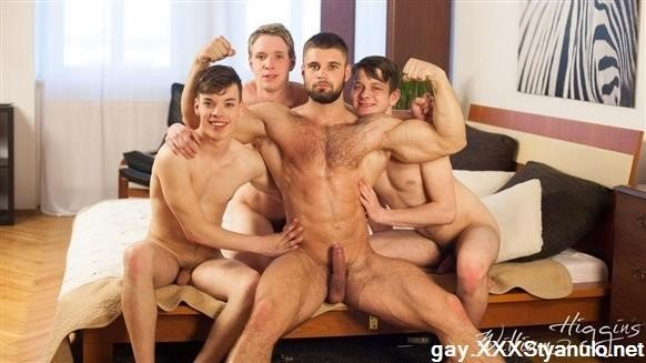 Franta Tucny, Karel Opec, Karel Polak, Leo Lombar - Wank Party 96, Part 1 Raw [HD]