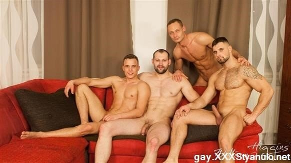 Hugo Antonin , Leo Lombar , Pavel Sora , Roman Baren - Wank Party 105, Part 2 Raw [FullHD]
