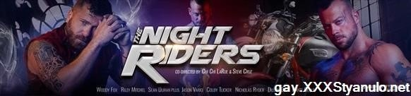 Colby Tucker, Jason Vario, Riley Mitchel - The Night Riders. Scene 1 [FullHD]