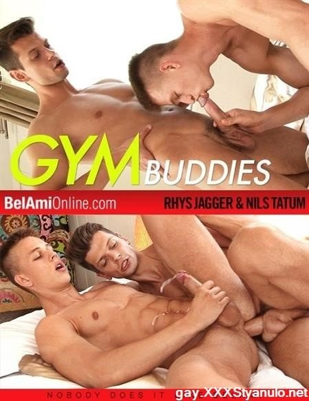 Rhys Jagger, Nils Tatum - Gym Buddies Rhys And Nils [HD]
