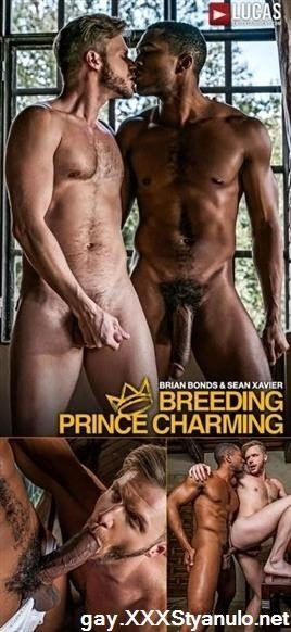 Amateurs - Lvp257-01 Breeding Prince Charming, Scene 01 Sean Xavier Fucks Brian Bonds With His Raw Black Cock [HD]