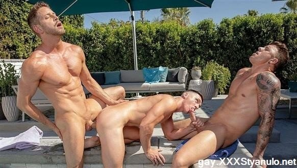 JJ Knight, Tristan Hunter, Johnny Ford - Lets Get Quenched! Sc.3 - Jj Knight, Tristan Hunter, Johnny Ford [FullHD]